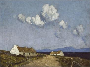 2 картини найвідомішого імпресіоніста Ірландії випадково знайшли на складі Огайо