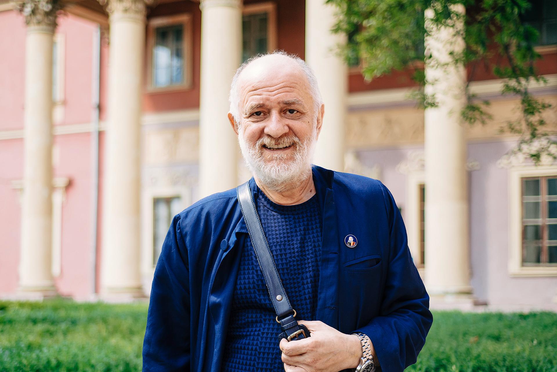 Помер директор Одеського художнього музею Олександр Ройтбурд