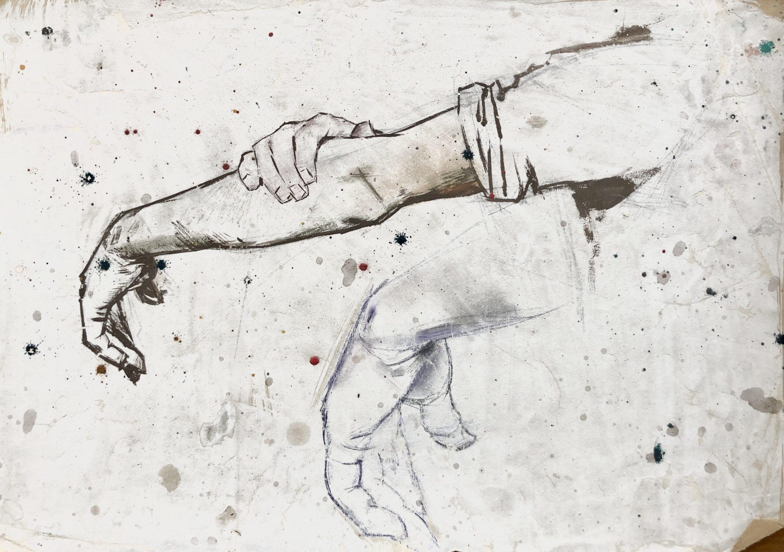 Віктор Зарецький, 50-ті. Надано сім'єю художника