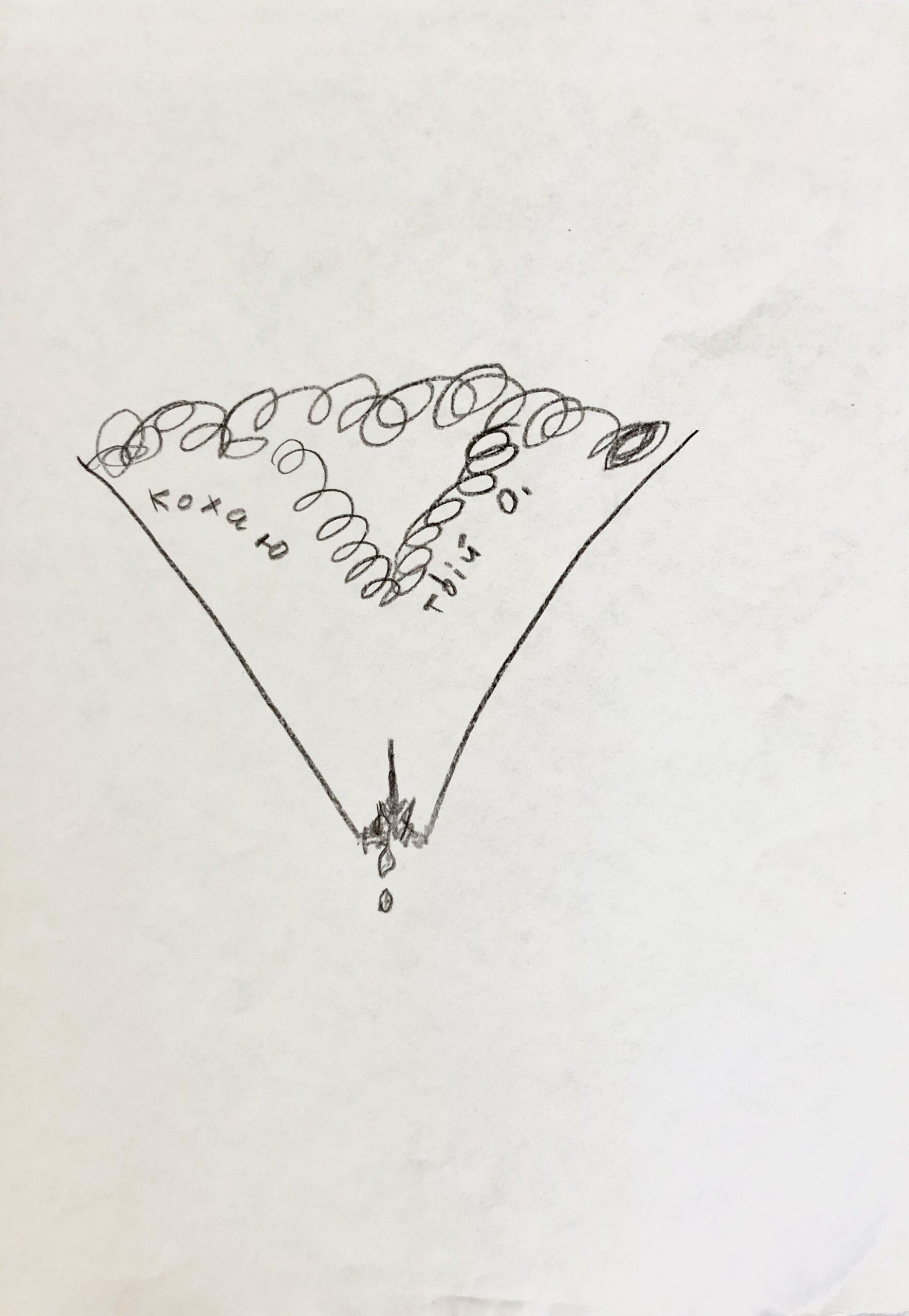 Віктор Зарецький, «З еротичної серії», 80-ті. Надано сім'єю художника
