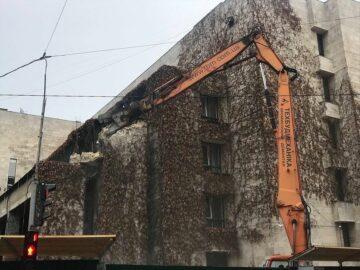 Будівля «Квіти України» знову опинилася у небезпеці