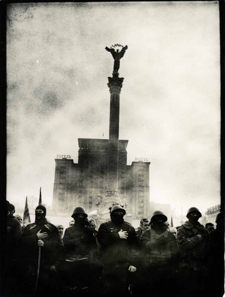 Сергій Лебединський, з серії «Євромайдан», 2014