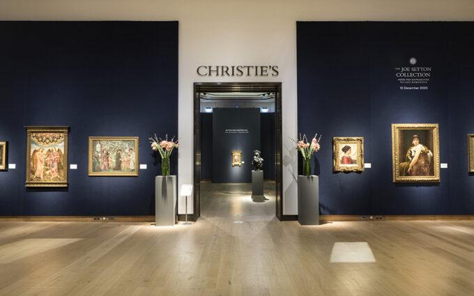 Аукціоний дім Christie's. @christie's