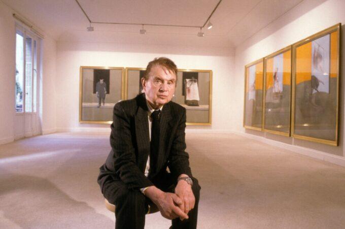 Френсіс Бекон на своїй виставці в паризькій галереї 1987 рік. @vogue.ua