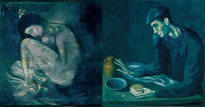 Вчені відтворили зображення, приховане під картиною Пікассо «Сніданок сліпого»