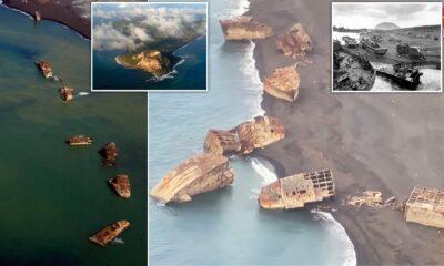 В Японії після землетрусу спливли затоплені під час війни кораблі-примари