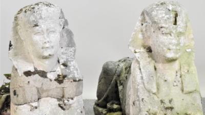 Статуї сфінксів випадково продали за 265 тисяч доларів